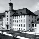 """Früheres Städtische """"Krankenanstalt"""" in Bad Reichenhall © J. Lang"""