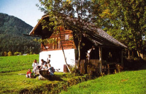 Waschlmühle (Doppelmühle) in Ebenau © TV Ebenau