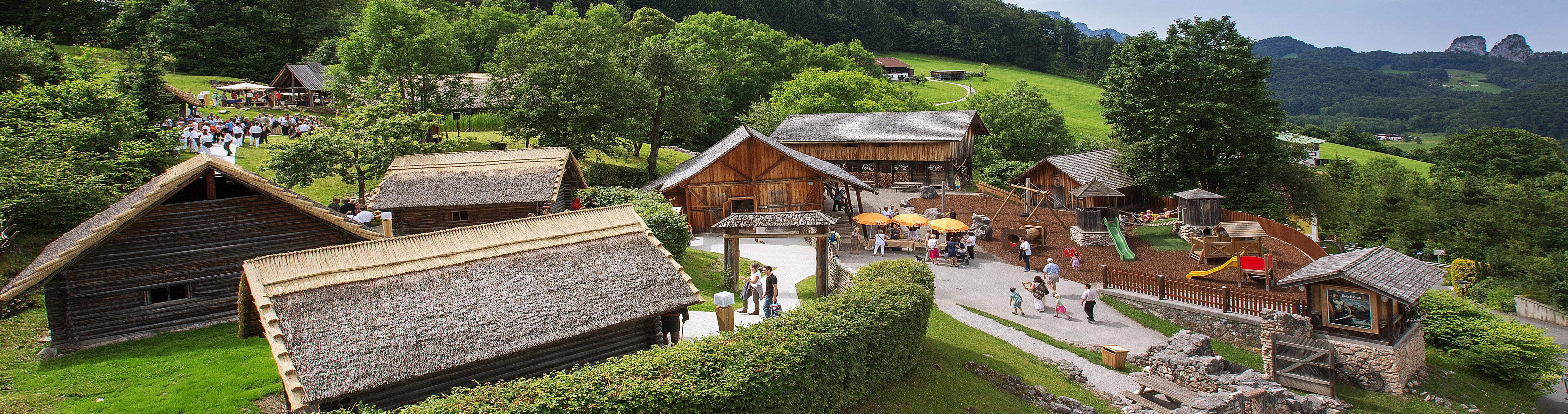 Im Keltendorf Salina der Salzwelten Hallein wird Geschichte lebendig! © Salzwelten Hallein, Foto: Kossmann