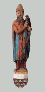 Gotische Stifterfigur des Grafen Berengar von Sulzbach, des Gründers der Stifte Berchtesgaden und Baumburg, in der ehem. Klosterkirche Kastl in der Oberpfalz © H. Dopsch