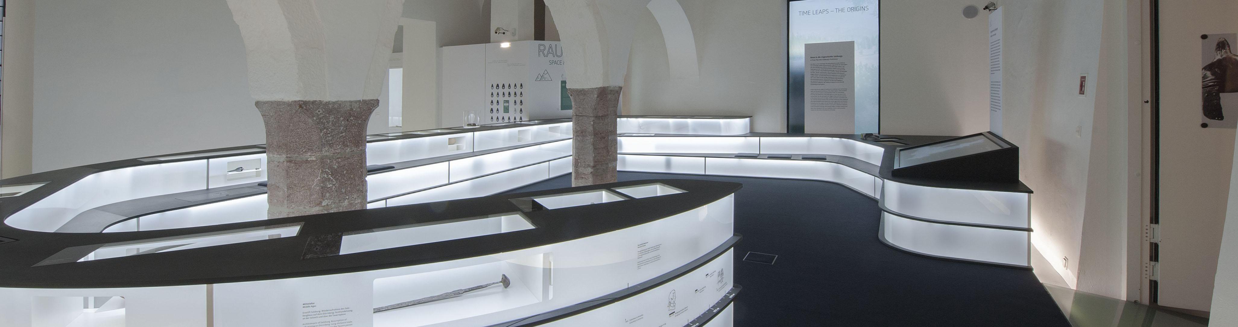 Das Keltenmuseum präsentiert die Archäologie und Urgeschichte des Landes Salzburg. © Keltenmuseum Hallein, Foto: Grünwald