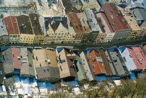 Dachlandschaft Innerer Markt. © Stadt Trostberg