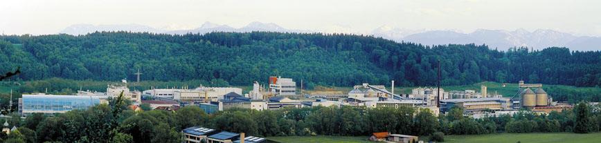 Alz Chemie heute, Panorama. © Alz Chemie