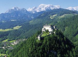Die Festung Hohenwerfen. © Tourismusverband Werfen