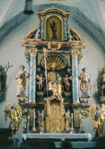 Altar in der Kirche St. Nikolaus © C. Soika