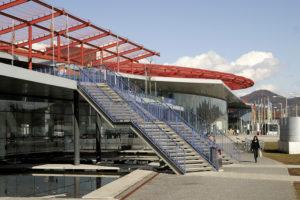 Der 1997 eröffnete Europark in Salzburg-Taxham ist das Einkaufcener mit dem größten Umsatz pro Quadratmeter Verkaufsfläche in Österreich. © H. Guggenberger