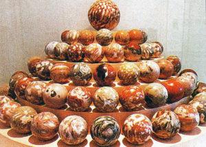 Marmorkugeln aus Fürstenbrunn ©