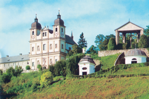 Maria Plain, Basilika mit Kalvarienberg © K. Birnbacher