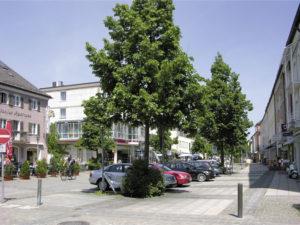 Die Hauptstraße in Freilassing © S. Schwedler