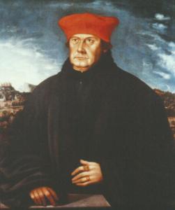 Portrait des Kardinals Matthäus Lang (1519-1540), der als Koadjutor 1514 die Säkularisation des Salzburger Domkapitels durchsetzte © H. Dopsch