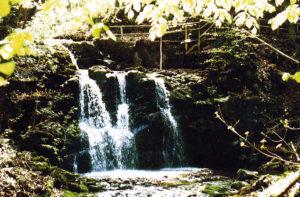 Wildkarwasserfall am Teufelsgrabenbach/Gemeinde Seeham in der Nähe der Kugelmühle und Röhrmoose-Getreidemühle © Gemeinde Seeham