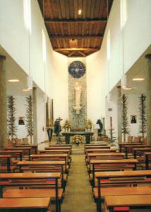 Innenansicht der Klosterkirche der Barmherzigen Schwestern