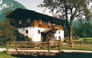Mühle St. Martin bei Lofer © TVB Salzburger Saalachtal