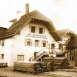 Heuberger Vollgatter-und Spaltsägewerk 1908