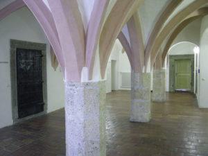 Altes Rathaus mit spätgotischem Gewölbe. © S. Schwedler