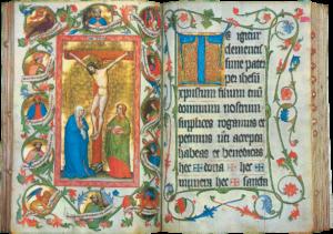 Illuminierte Handschrift, Missale, 1430 © K. Birnbacher