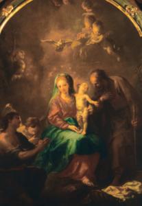 Die Heilige Familie, J.M. Schmidt (gen. Kremser Schmidt) © K. Birnbacher