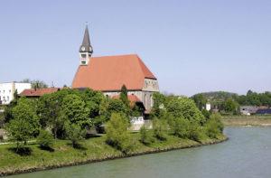 Pfarrkirche Mariä Himmelfahrt. © S. Schwedler