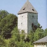 Der Schellenberger Torturm aus der Mitte des 13. Jahrhunderts. © Oskar Anrather