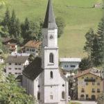 Pfarrkirche St, Nikolaus und Ulrich in Schellenberg, erbaut 1869–1872, mit dem spätgotischen Turm aus der Zeit um 1500. (Foto Oskar Anrather)