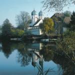 Benediktinerkloster mit Kirche St. Lambert in Seeon © C. Soika