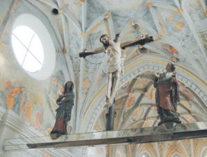 Romanische Kreuzigungsgruppe © C. Soika