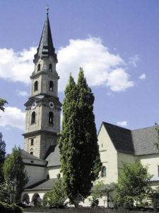 Die Kirche des Kollegiatstifts Mattsee. © Marktgemeinde Mattsee