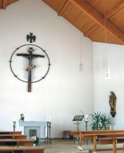 In der Kapelle des Pflegeheimes St. Elisabeth in Teisendorf © H. Roth