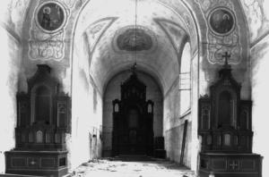 Innenraum der Klosterkirche 1920 © C. Soika