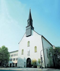 Die Klosterkirche heute © C. Soika