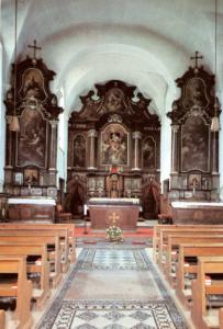 Innenansicht der ehemaligen Kapuziner-Klosterkirche © H. Dopsch