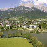Saalfelden mit dem Ritzensee. © Stadtgemeinde Saalfelden