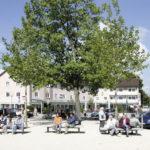 Traunreut, Rathausplatz © Stadt Traunreut
