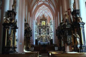 Basilika Mondsee Hochaltar © www.mondsee.at