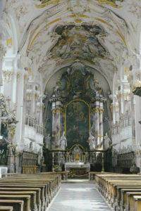 Baumburg Klosterkirche Innenansicht © C. Soika