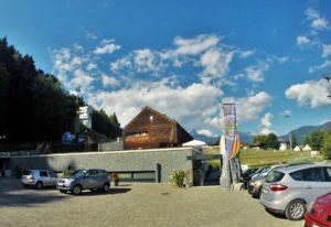 """Front des Besucherzentrums Geopark """"Erz der Alpen"""" © TV Bischofshofen"""