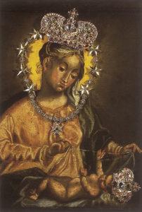 Das Gnadenbild von Maria Plain © Verlag St. Peter