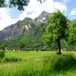 Grödig mit dem Untersberg von Eichet aus © Marktgemeinde Grödig