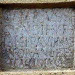 Grabinschrift des Bellicus und der Paulina © O. Harl 2004