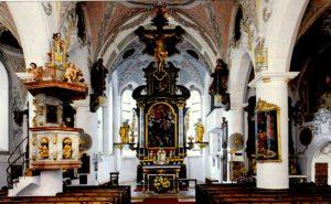 Grassauer Kirche (Innenaufnahme) © H. Grabmüller