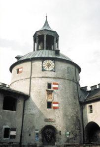 Turm der Festung Hohenwerfen © Bundesdenkmalamt