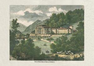 Alte Ansicht der Königlichen Villa in Berchtesgaden © J. Lang/Stadtarchiv Bad Reichenhall