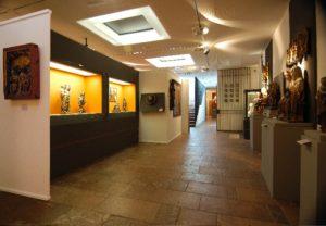 Ausstellungsraum Museum Leogang/Hütten © Museum Leogang