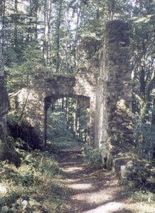 Reste der bedeutenden Burganlagen © Bundesdenkmalamt