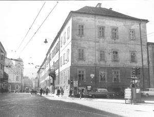Lodron - Primogenitur - Palais um 1960 © Bundesdenkmalamt
