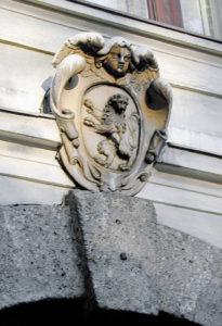 Wappen am Lodron - Sekundogenitur - Palais © H. Guggenberger