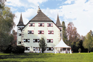 Schloss Prielau © örtlicher Tourismusverband
