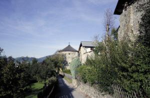 Stadtmauer und Burg © örtlicher Tourismusverband