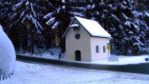 Bergkapelle Rerobichl, 1732 von Jakob Singer erbaut © Knappenverein Oberndorf Rerobichl