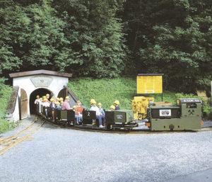 Einfahrt ins Schaubergwerk Kupferplatte © Museum Jochberg